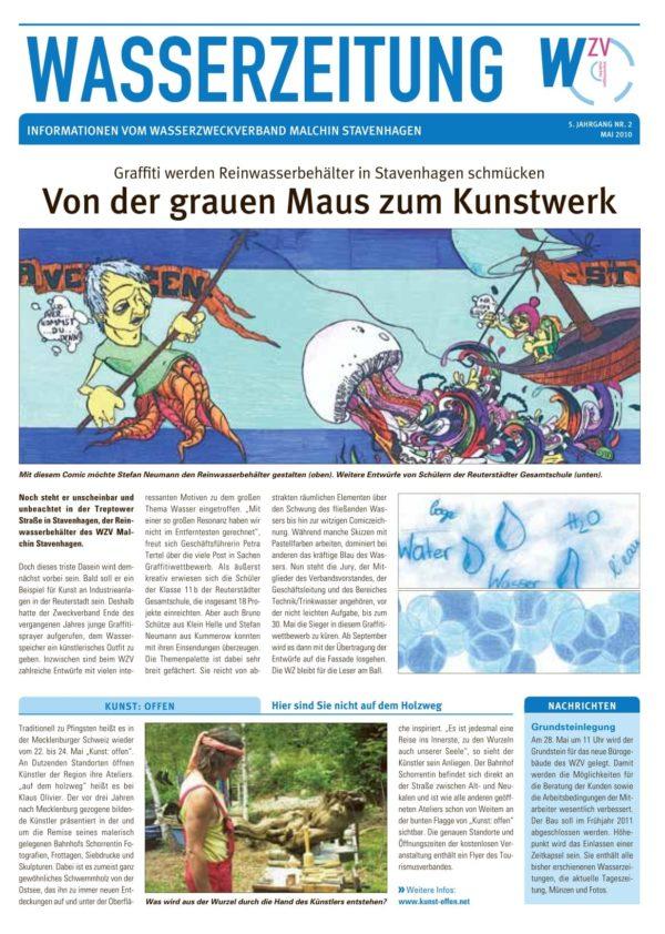 Wasserzeitung 02/2010 » WasserZweckVerband MalchinStavenhagen